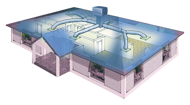 Ducted Evaporative System